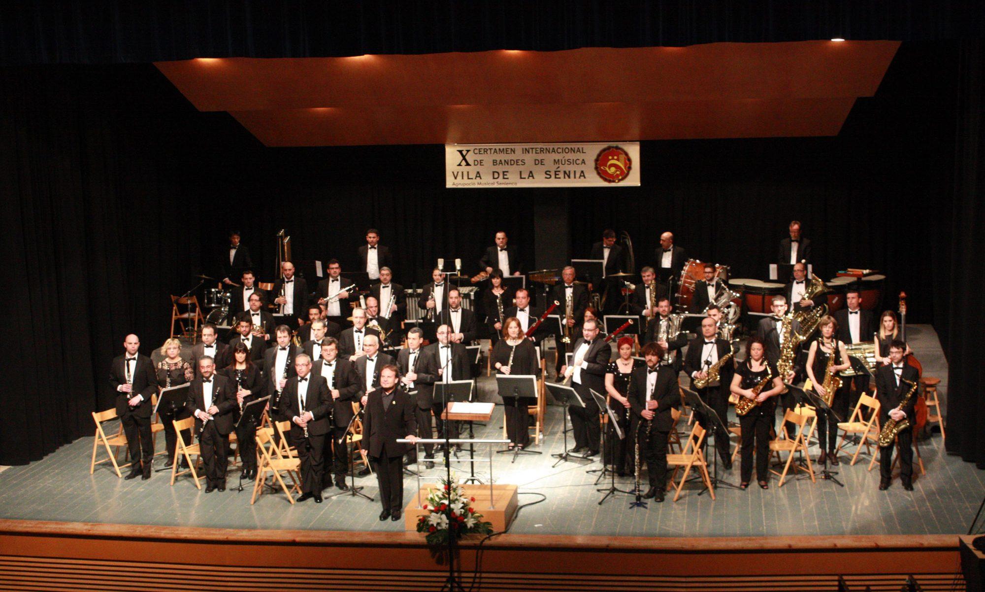 Certamen Internacional de Bandas de Música Vila de la Sénia